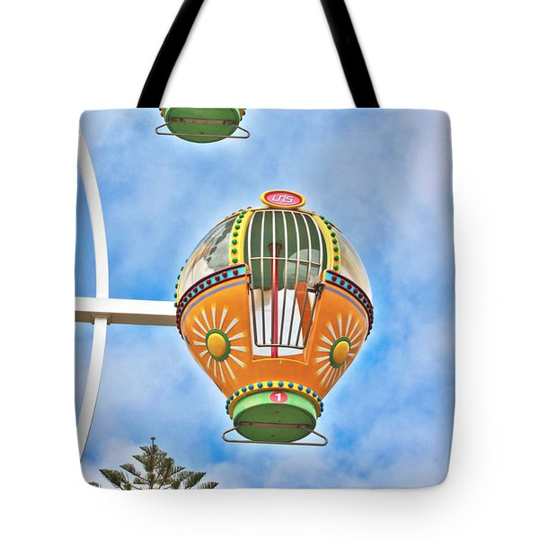 In Descent Tote Bag