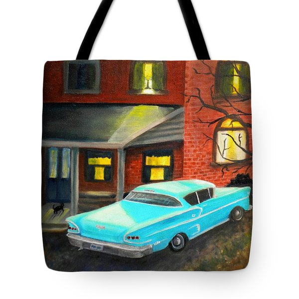 In For The Night Tote Bag by Renate Nadi Wesley