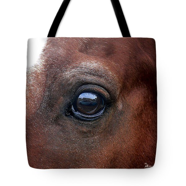 Tote Bag featuring the photograph In His Sight by EricaMaxine  Price