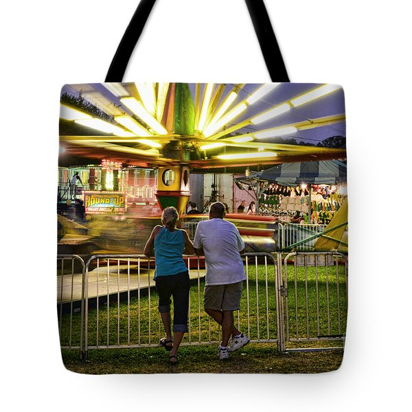 In Love At The Fair Tote Bag by Paul Ward