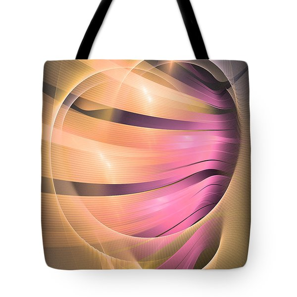 In Medias Res -abstract Art Tote Bag