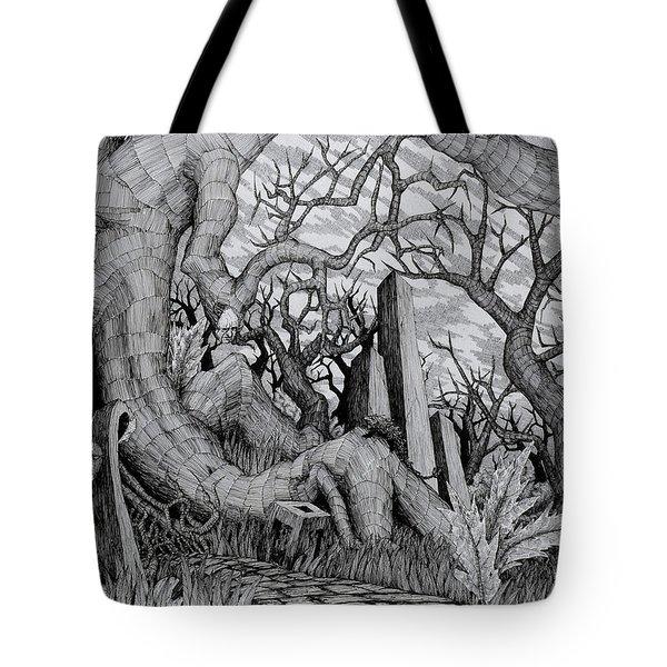 in my garden II Tote Bag