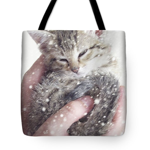 In Safe Hands II Tote Bag by Amy Tyler