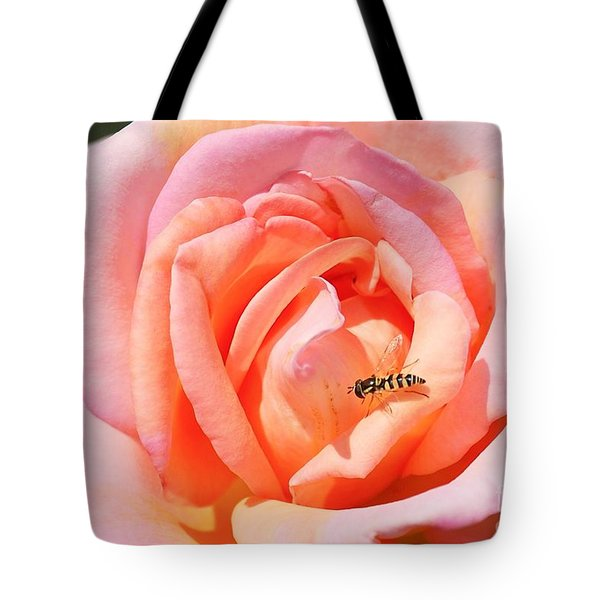 Tote Bag featuring the photograph In Search Of Nectar by Fotosas Photography
