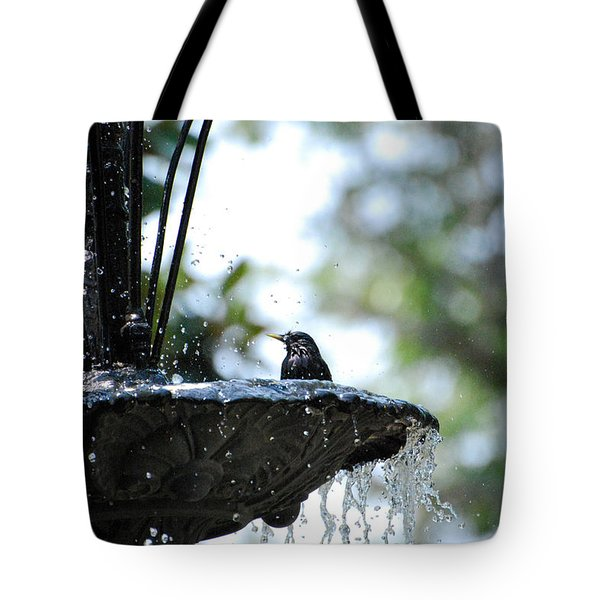 Tote Bag featuring the photograph In The Cool Of The Morning #1 by Linda Cox