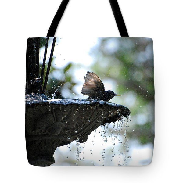 Tote Bag featuring the photograph In The Cool Of The Morning #2 by Linda Cox