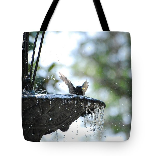 Tote Bag featuring the photograph In The Cool Of The Morning #3 by Linda Cox