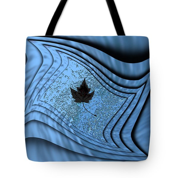 In The Eye Of The Storm 2 Tote Bag by Tim Allen