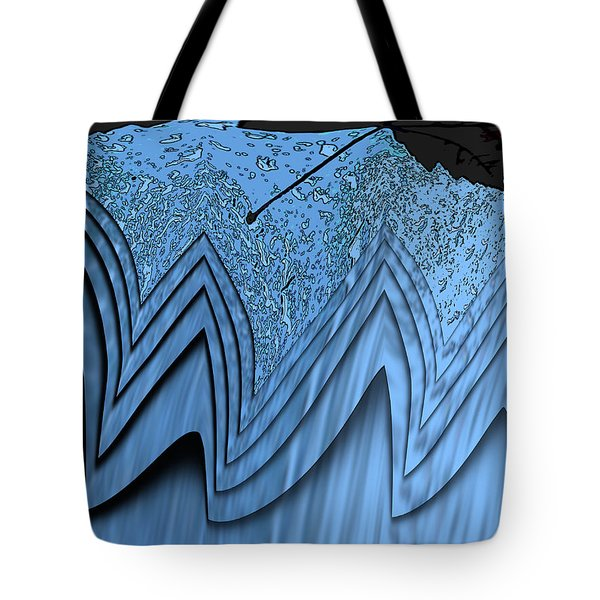 In The Eye Of The Storm 3 Tote Bag by Tim Allen