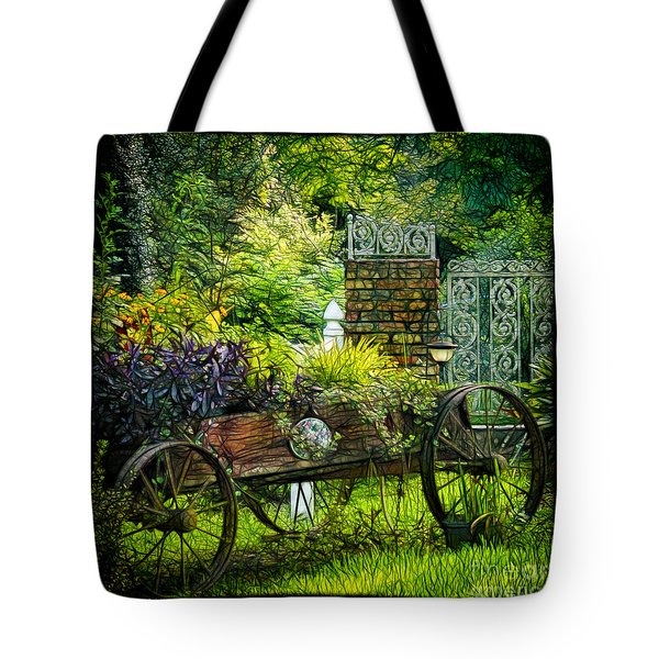 In The Garden Tote Bag by Judi Bagwell
