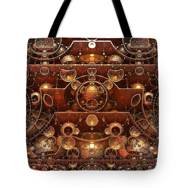 In The Grand Scheme Of Things Tote Bag by Lyle Hatch