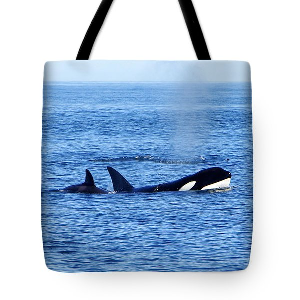 In The Great Wide Ocean Tote Bag