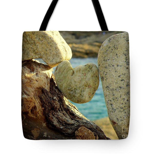 In The Heart Of Things Tote Bag