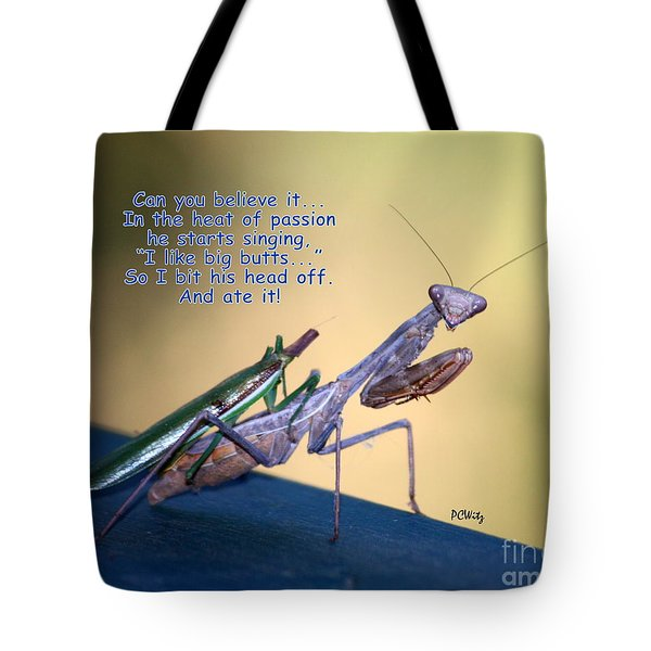 In The Heat Of Passion-2 Tote Bag