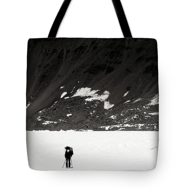 In The Mountains Tote Bag by Konstantin Dikovsky