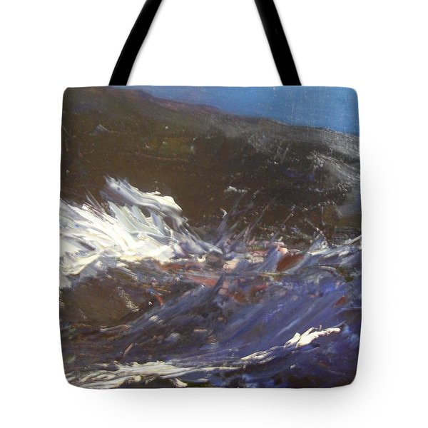 In The Wake Of The Ship Tote Bag