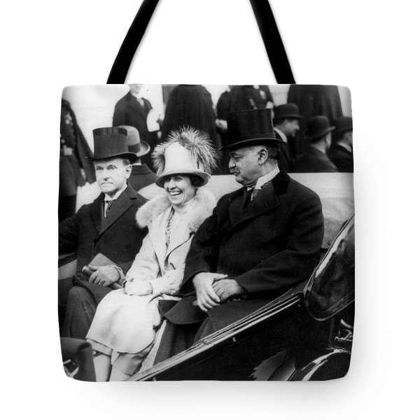 Inauguration Of President Calvin Coolidge - C 1925 Tote Bag