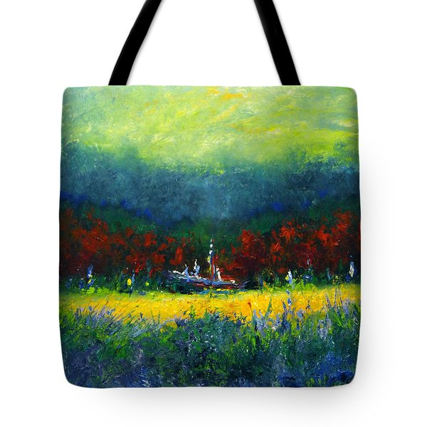 Independence Day Tote Bag by Shannon Grissom