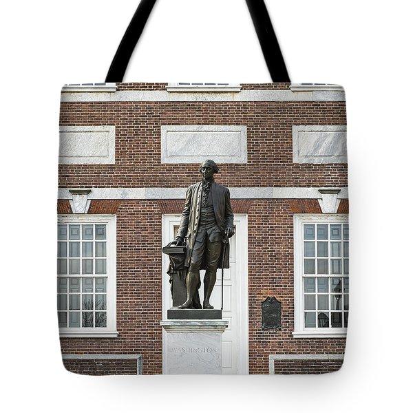 Independence Hall Philadelphia Tote Bag by John Greim