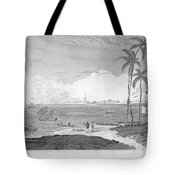 India: Calcutta, C1830 Tote Bag by Granger