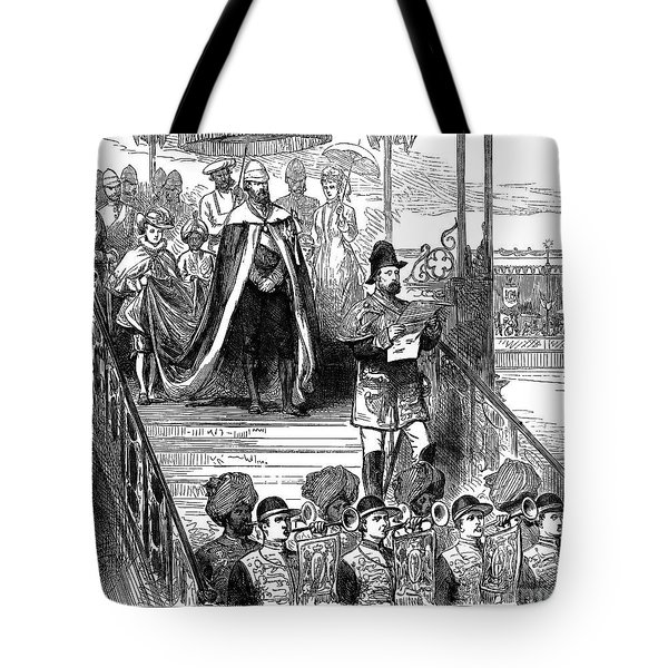 India: Imperial Durbar Tote Bag by Granger