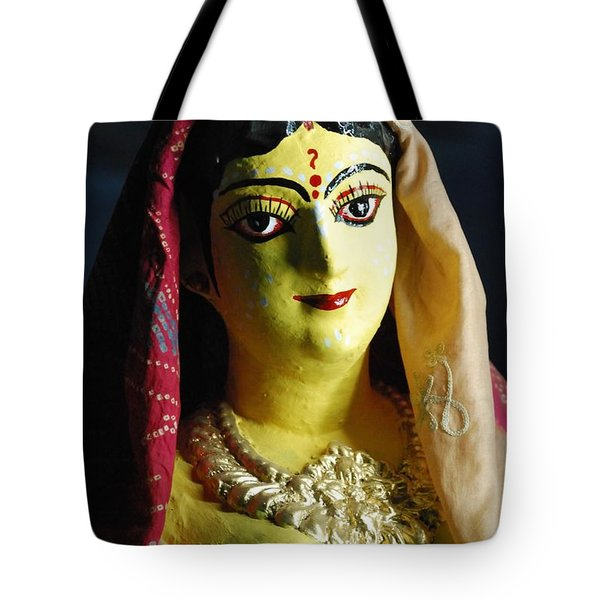 Tote Bag featuring the photograph Indian Beauty by Fotosas Photography