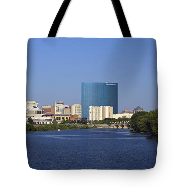Indianapolis - D007990 Tote Bag by Daniel Dempster