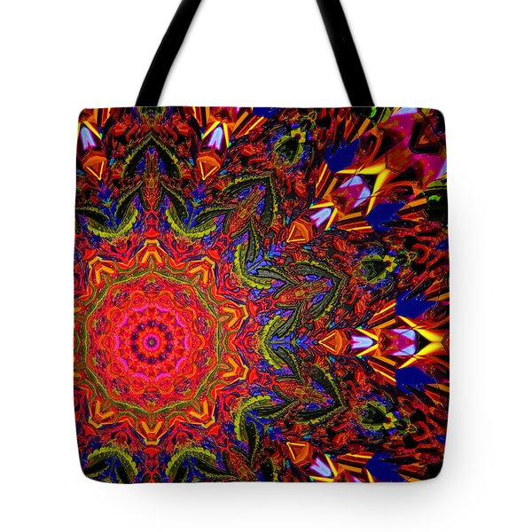 Indra's Necklace Tote Bag