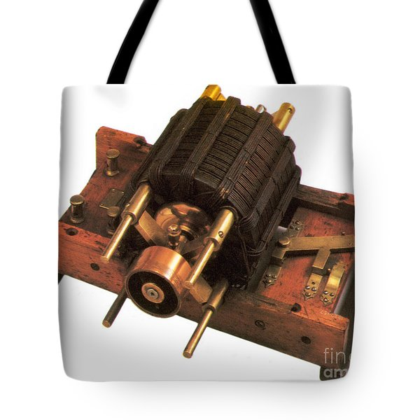 Induction Motor Tote Bag by Photo Researchers