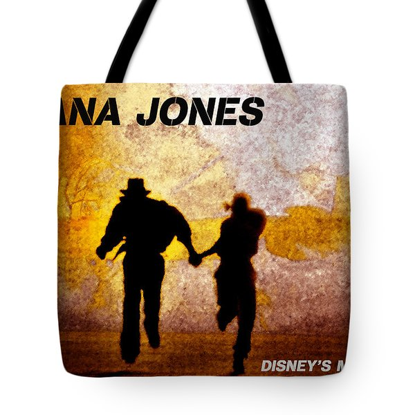 Indy And Marions Escape Tote Bag by David Lee Thompson