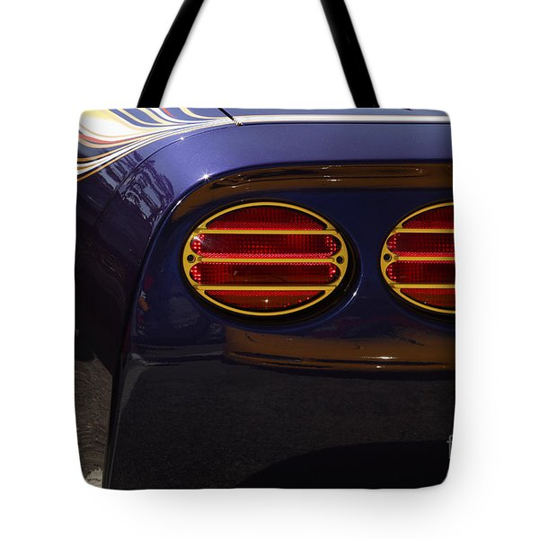 Indy Pace Car Tote Bag by Dennis Hedberg
