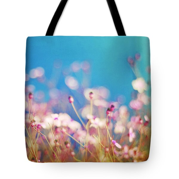 Infatuation In Blue II Tote Bag by Amy Tyler