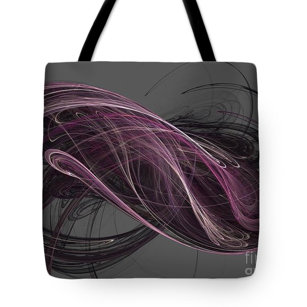 Tote Bag featuring the digital art Infinity by Kim Sy Ok