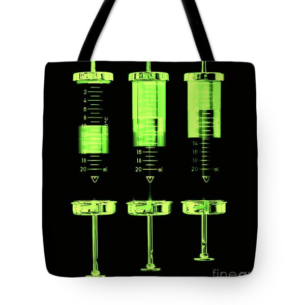 Injection Tote Bag by Michal Boubin