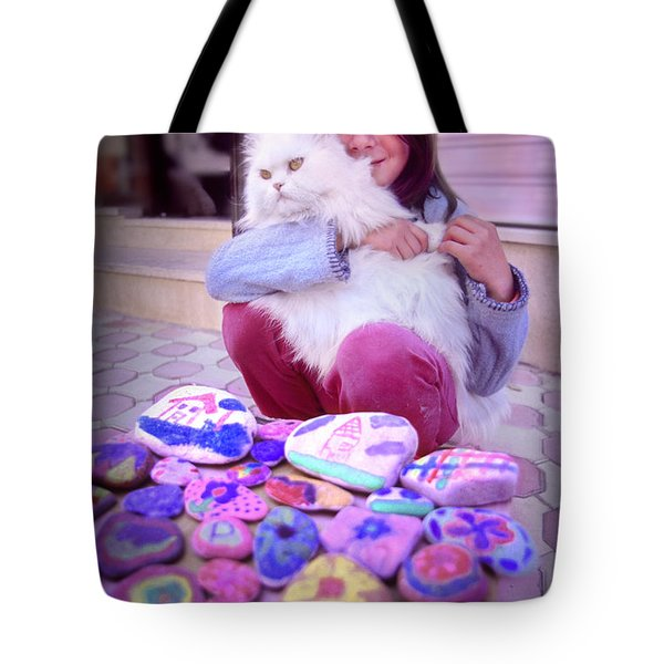 Tote Bag featuring the photograph Innocence by Richard Piper