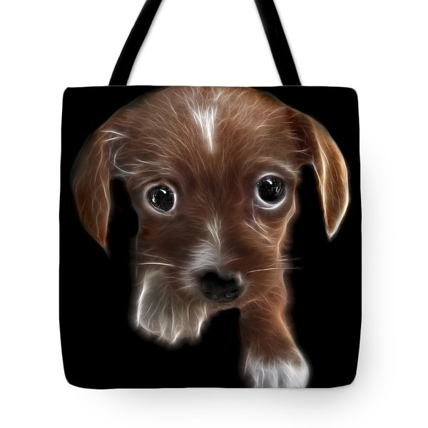 Innocent Loving Eyes	 Tote Bag by Peter Piatt