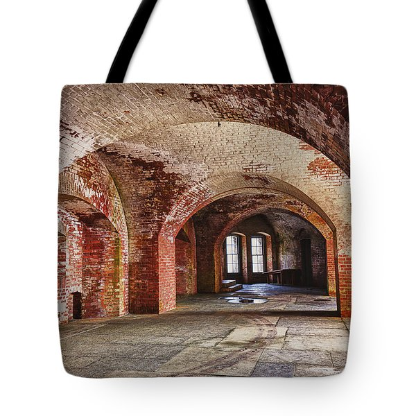 Inside The Walls Tote Bag by Garry Gay
