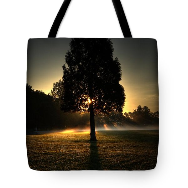 Inspirational Tree Tote Bag