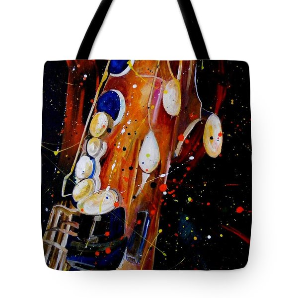 Instrument Of Choice Tote Bag