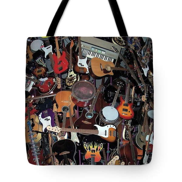 Instruments Tote Bag by Chalet Roome-Rigdon