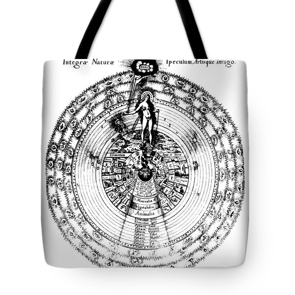 Integrae Naturae, 17th Century Tote Bag by Science Source
