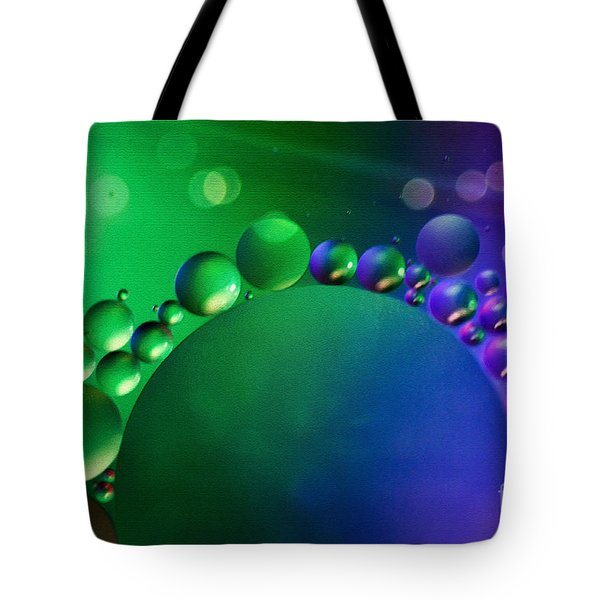 Intergalactic Space 4 Tote Bag by Kaye Menner