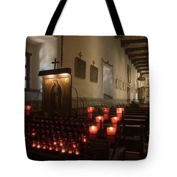 Interior Old Mission Tote Bag by Bob Christopher