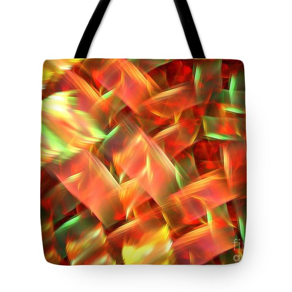 Interlocking Tote Bag by Kim Sy Ok