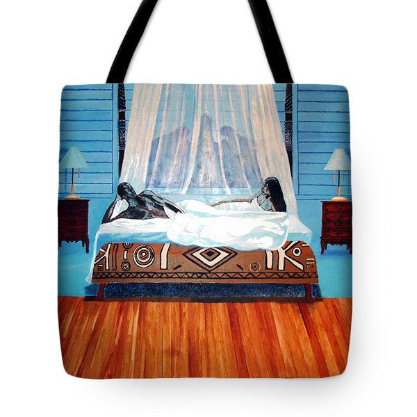 Intimate Reflections Tote Bag