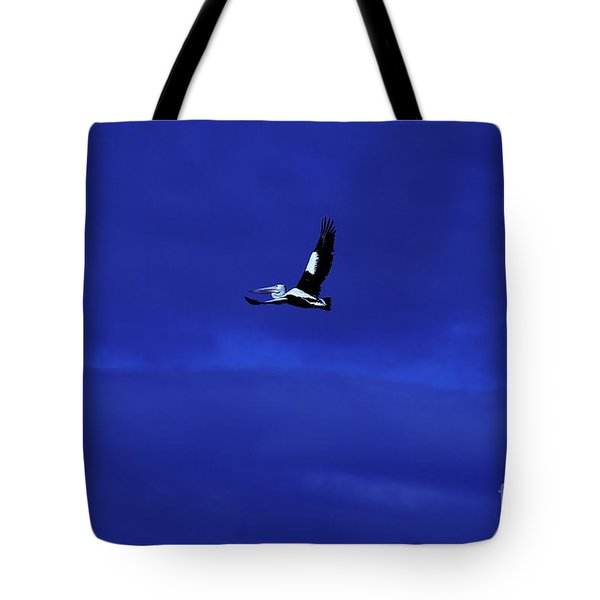 Tote Bag featuring the photograph Into The Blue by Blair Stuart