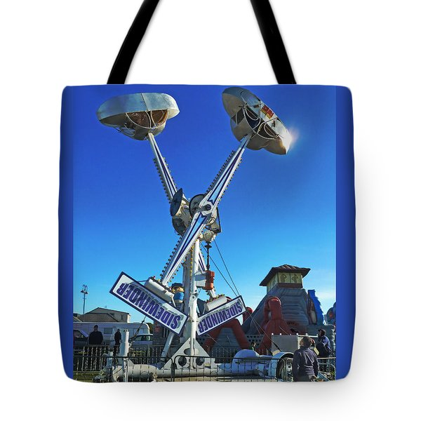 Tote Bag featuring the photograph Into The Blue by Steve Taylor