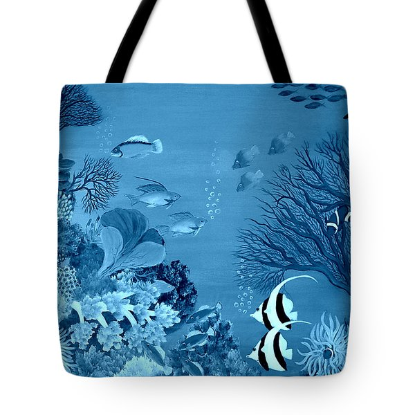 Into The Blue Yonder Tote Bag by Fram Cama