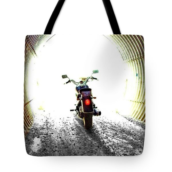Tote Bag featuring the photograph Into The Light by Blair Stuart