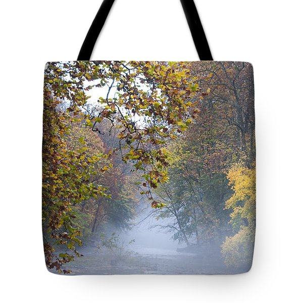 Into The Mist Tote Bag by Bill Cannon